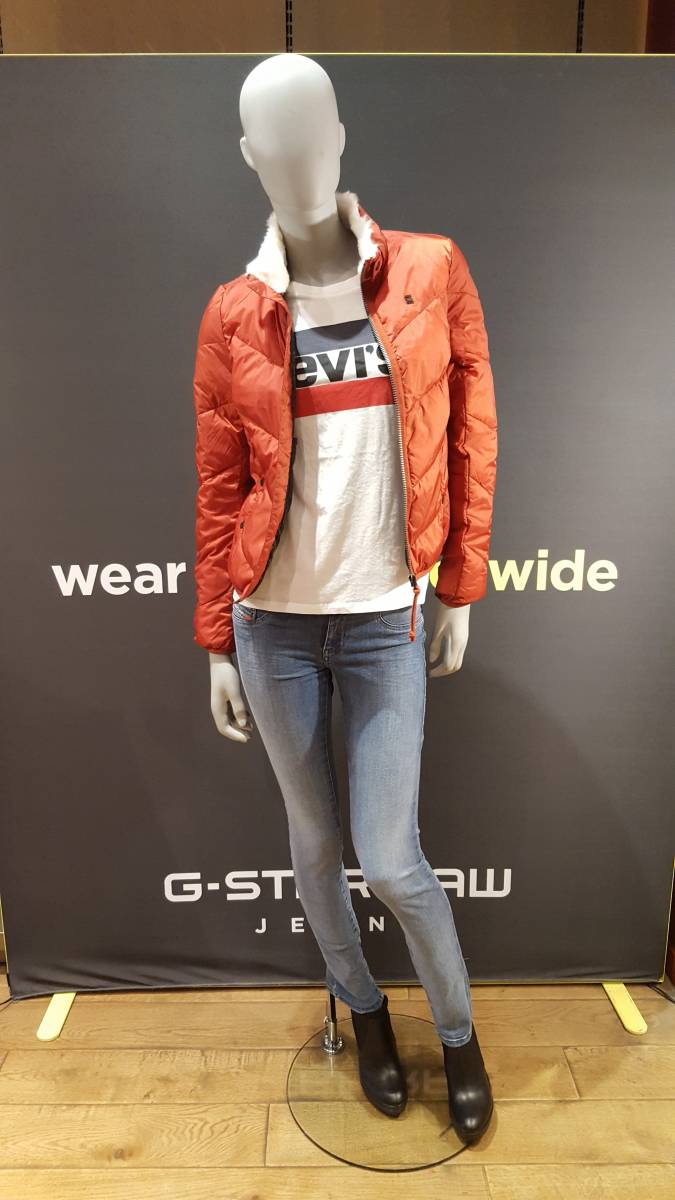 Nouvelle collection G-star / Levi's / diesel Hiver 2017
